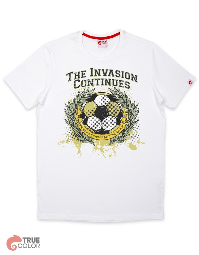 Футболка THE INVASION CONTINUES